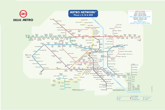 Delhi Metro Rail Advertising