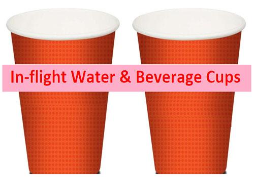 In-Flight Water & Beverage Cups