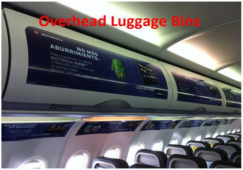 Overhead Luggage Bins