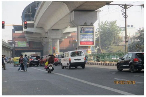 Delhi Metro Pillar Advertising