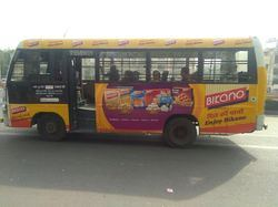 RTV Bus Advertising in Delhi