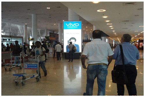 Advertise In Bangalore Airport