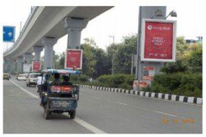 Delhi MetroPillarAdvertising