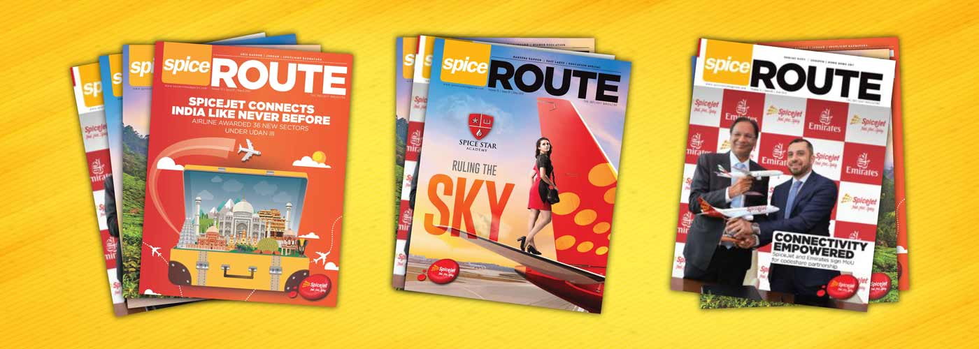 SpiceRoute Magazine Advertisement - Inflight Magazine of